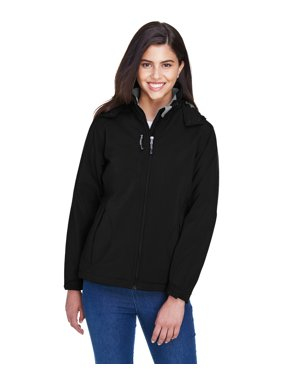 Ash City - North End Ladies' Glacier Insulated Three-Layer Fleece Bonded Soft Shell Jacket with Detachable Hood - 78080