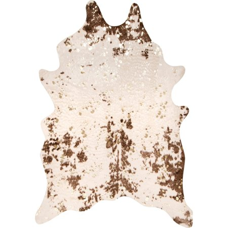 nuLOOM Iraida Faux Cowhide Area Rug or Runner