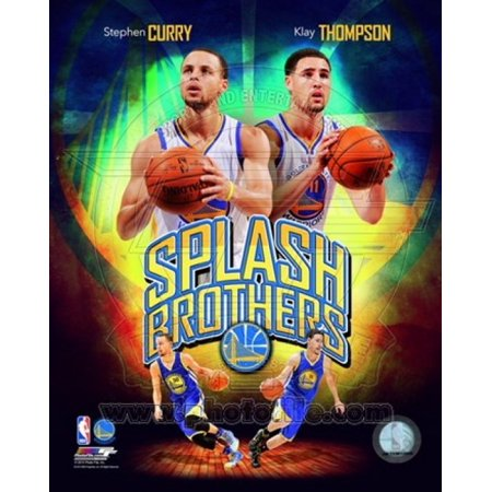 Stephen Curry & Klay Thompson Splash Brothers Portrait Plus Sports