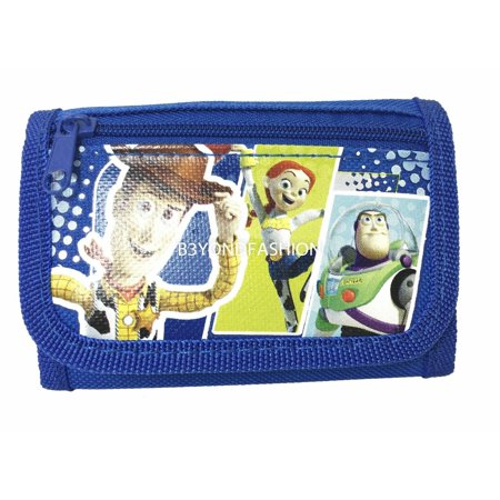Disney Toy Story 3 Tri-fold Canvas Wallet