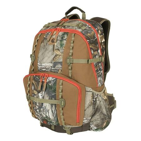 Grn Camo - Carhartt Realtree Camo Hunt Day Pack with Gun Sling, 305602B