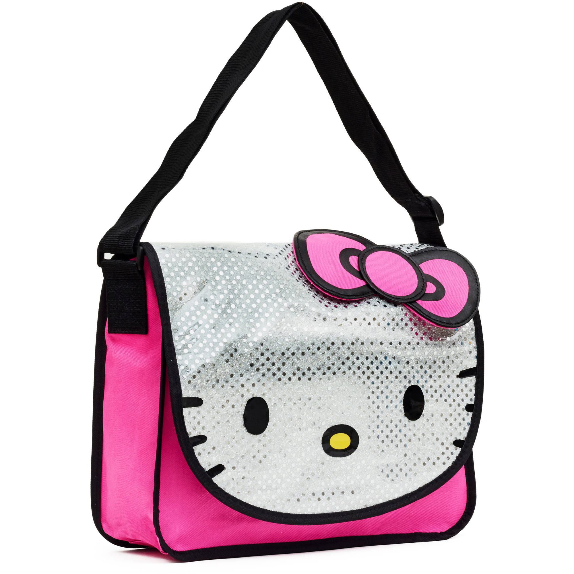 Hello Kitty Sequin Face Messenger