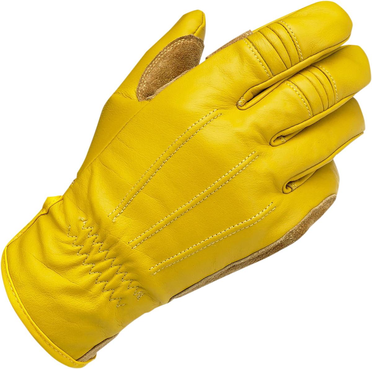 BILTWELL Work Gloves Gold Md  GW-MED-01-GD