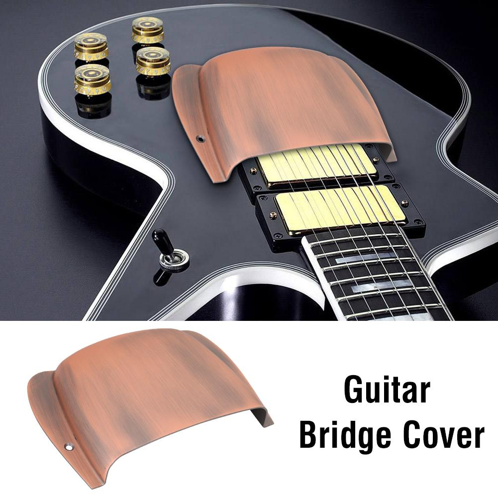 134 * 97 * 27mm Durable Alloy Bridge Cover Protector Replacement Parts for PB Bass Guitar Bridge Cover Bridge Protector