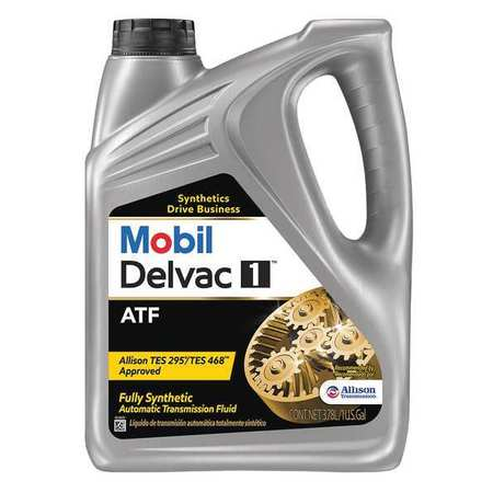 MOBIL 112810 Transmission Fluid, Synthetic, 1 Gal