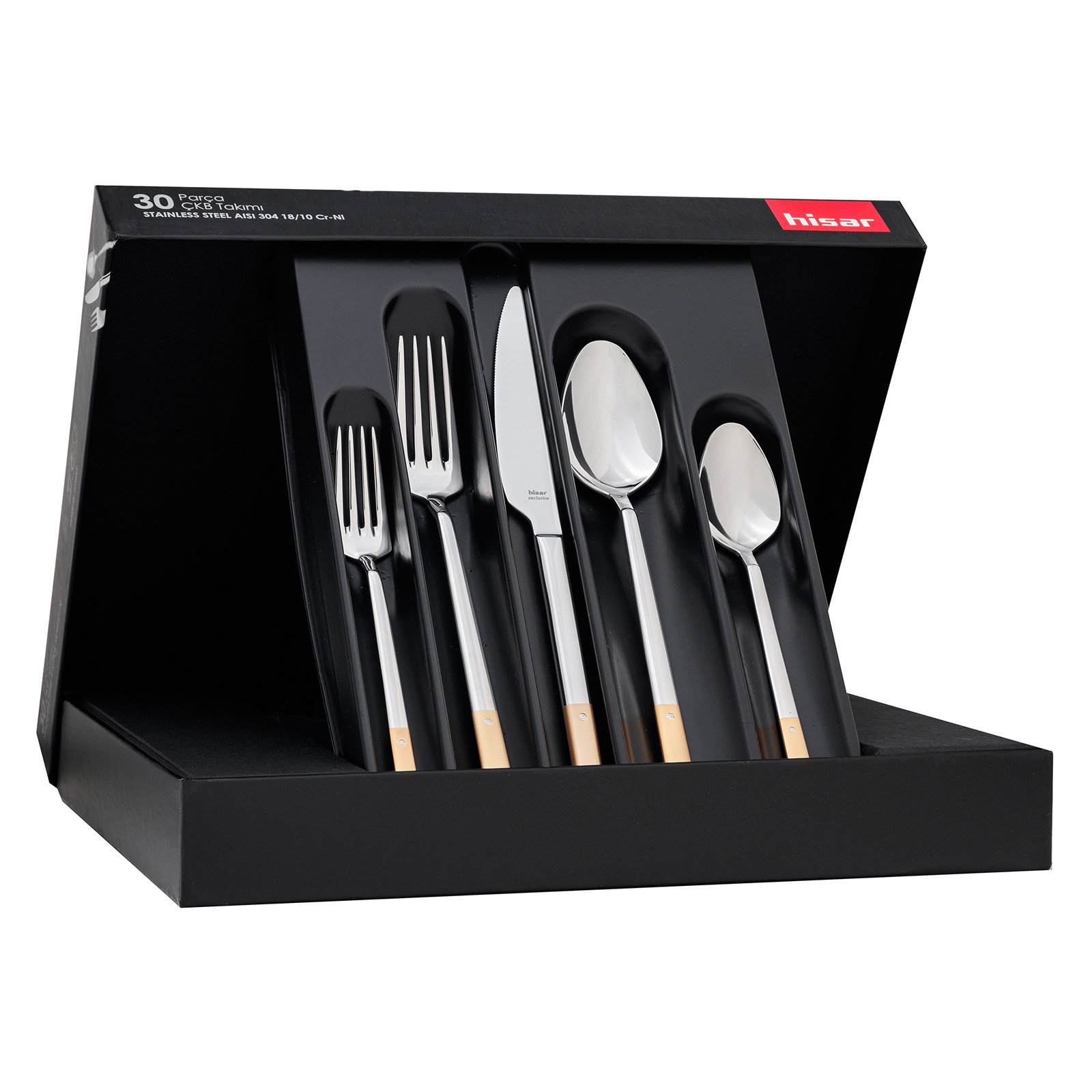Hisar Milan 30 Piece Flatware Set