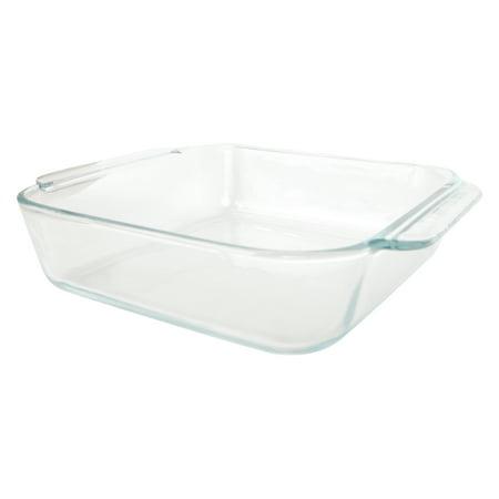Pyrex 222 2 Qt Square Clear Glass Baking Dish