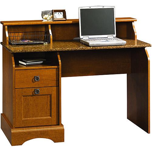 Sauder Graham Hill Desk Autumn Maple Walmart Com
