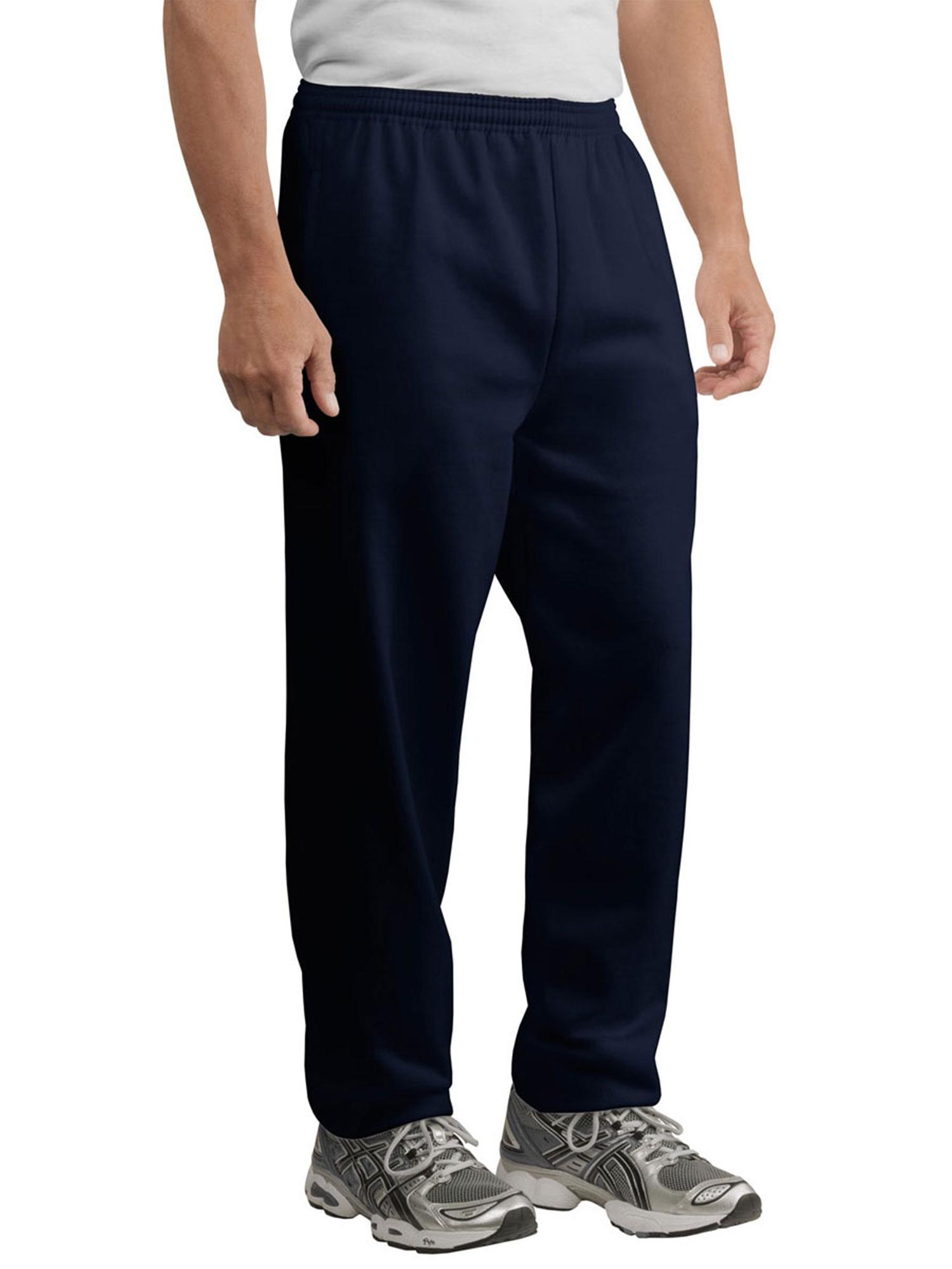 Port & Company Men's Elastic Waist Pockets Sweatpant
