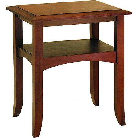 Craftsman End Table, Antique Walnut - Craftsman End Table, Antique Walnut - Walmart.com