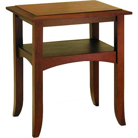 craftsman end table antique walnut - Antique End Tables Value