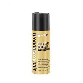 (Sexy Hair Sulfate-Free Bombshell Blonde Shampoo 1.7 fl.oz.)