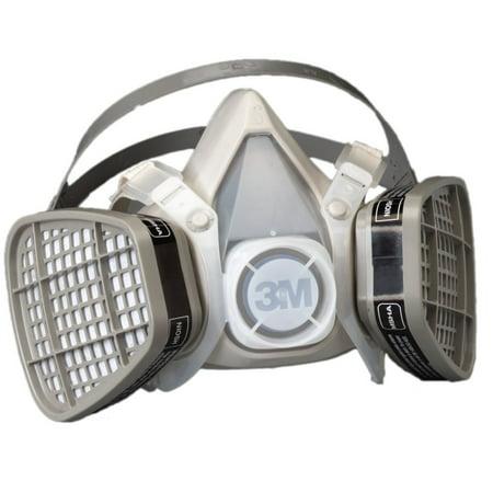 Facepiece Assembly (3M 21565 Half Facepiece Disposable Respirator Assembly 5101 Organic Vapor, Small )