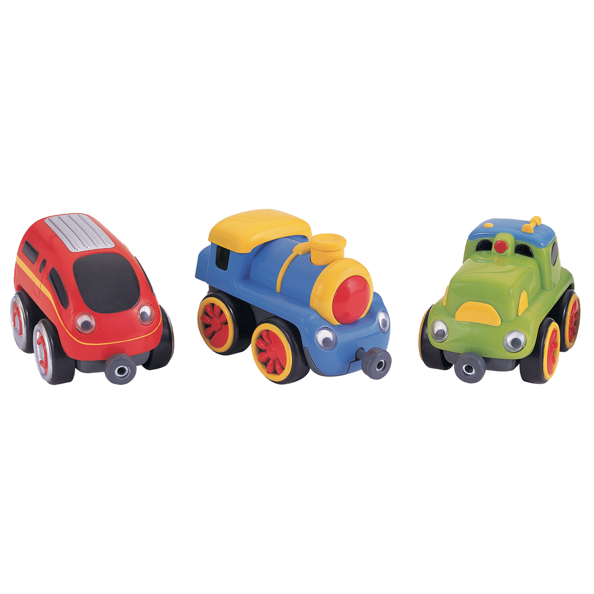 Small World Toys Tailgate Trios, Locomotives by Small World Toys