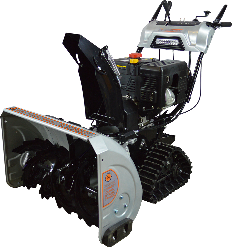 Dirty Hand Tools 30 inch 2-stage Snow Blower With Tracks by Dirty Hand Tools