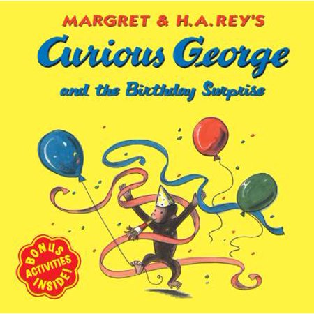 Curious George and the Birthday Surprise (Paperback) - Curious George Halloween Story
