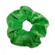 CoverYourHair 61186 Pretty Velvet Scrunchy, Green