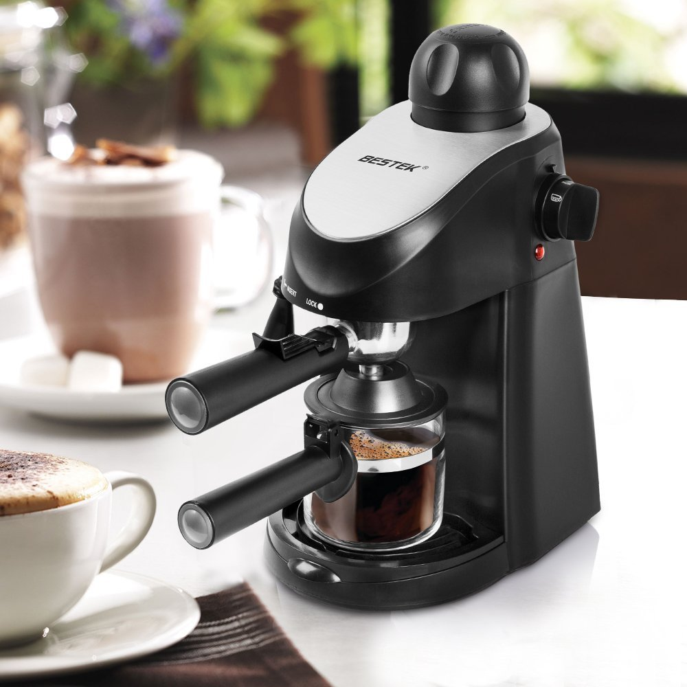 Steam Press Coffee Maker : BESTEK on Walmart Marketplace - Marketplace Pulse