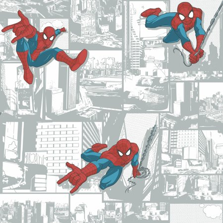 Disney Kids III Marvel Ultimate Spiderman Comic Wallpaper](Dc Comics Batman Wallpaper)