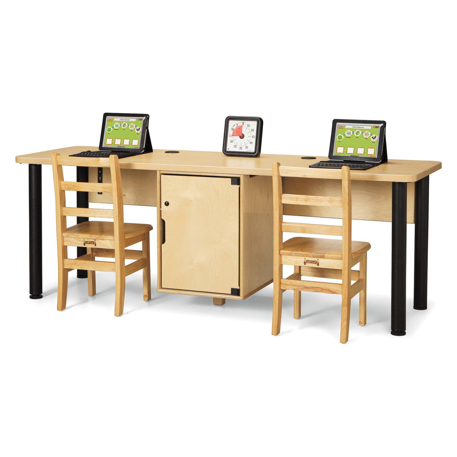 Jonti Craft Computer Lab Table Walmart Com