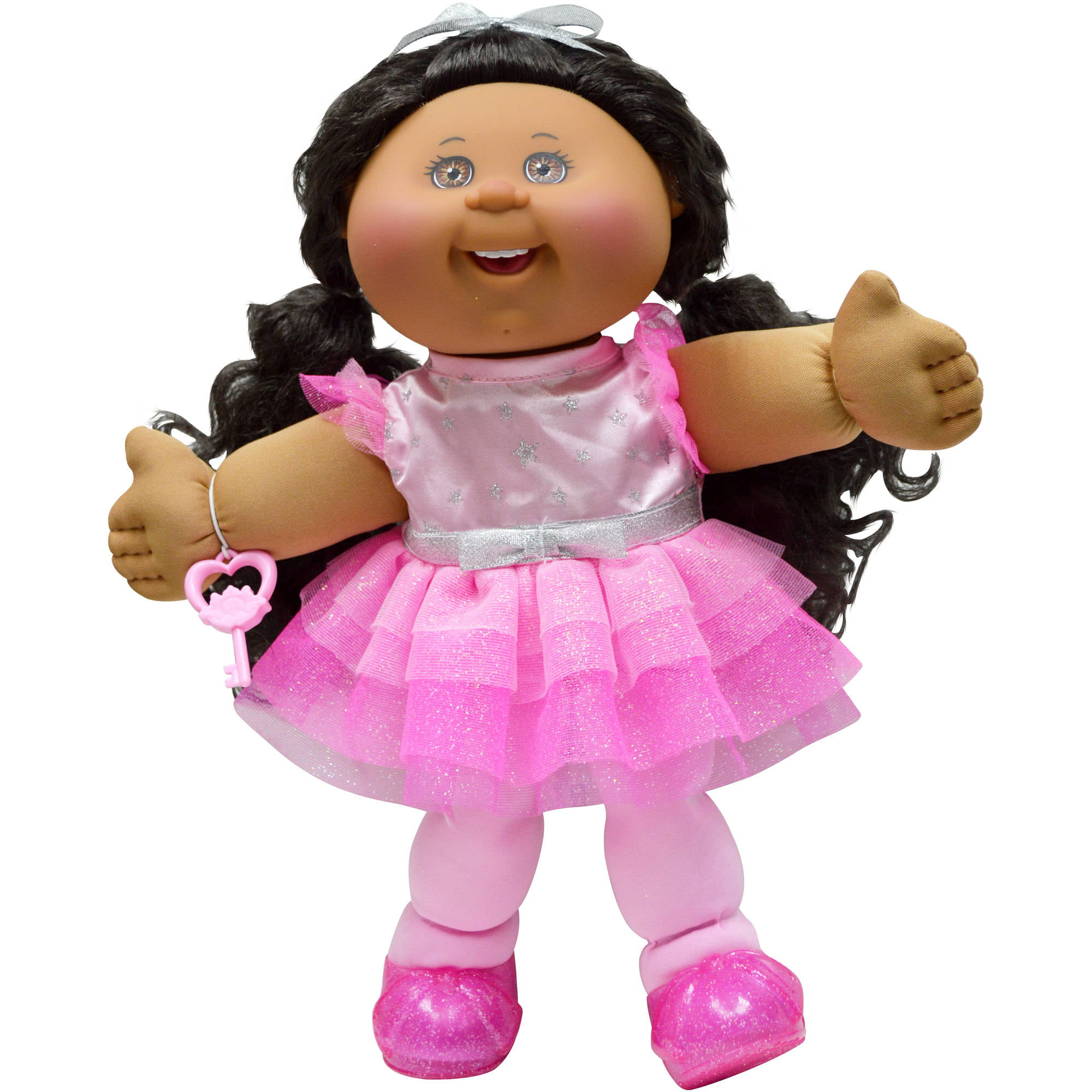 "Cabbage Patch Kids 14"" Girl, Glitz, African American, Brown Eyes by Generic"