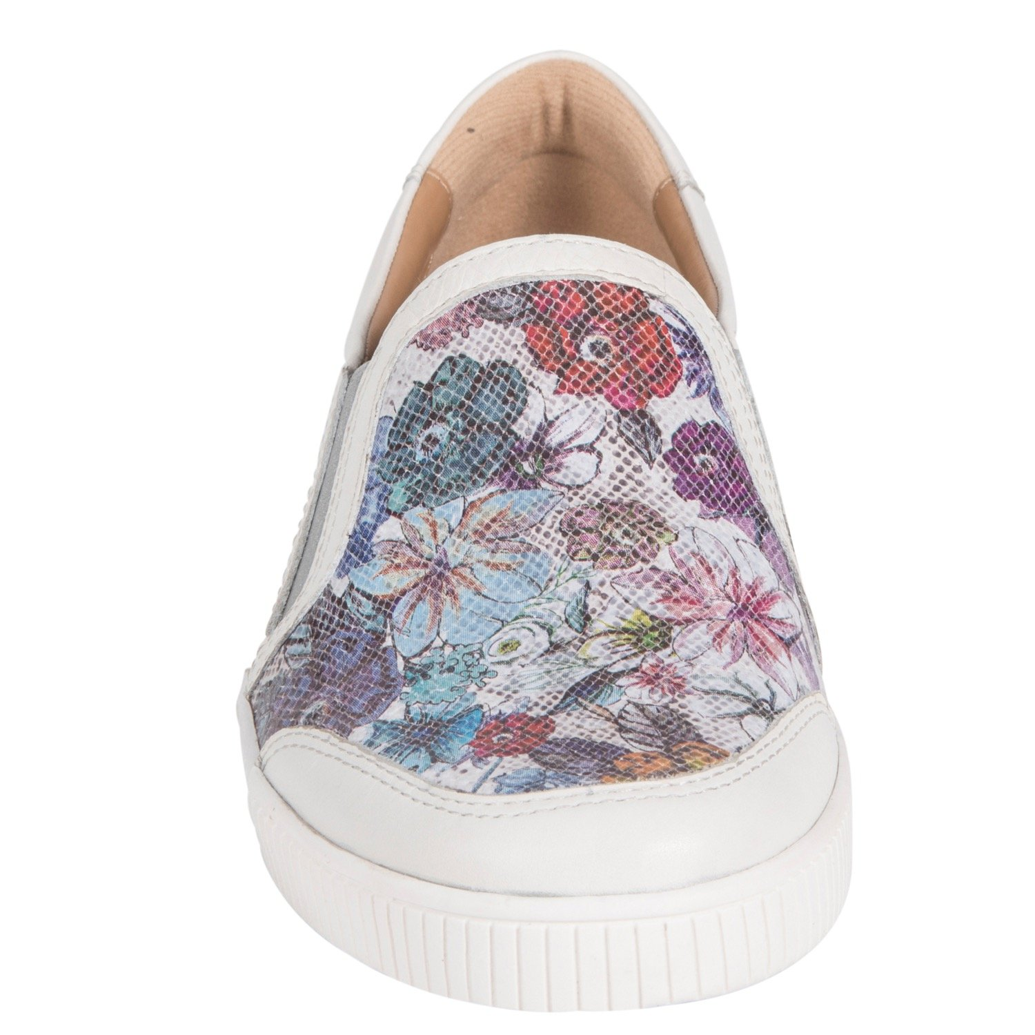 Earth Womens Currant Light Silver Slip-On - 8
