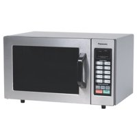 Panasonic 0.8 Cu. Ft. Countertop Microwave, Stainless Steel