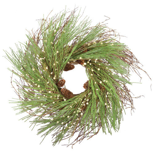 Fantastic Craft Frost with Grapevine Wreath