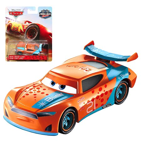 Ryan Inside Laney Fireball Beach Racer Disney Cars 3 Diecast 1:55 -