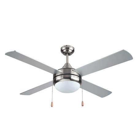 Black Decker 52 Inch Ceiling Fan With Light Kit Amp Pull