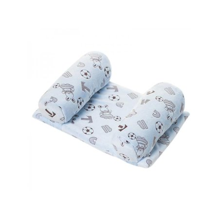- Ropalia Infant Baby Newborn Pillow Anti Roll Sleep Cushion Prevent Flat Head Positioner Pillow Anti-Rollove Pillow