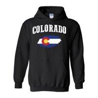 Unisex Colorado Flag Hoodie Sweatshirt