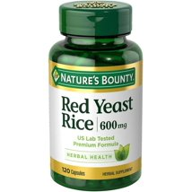 Vitamins & Supplements: Nature's Bounty Red Yeast Rice