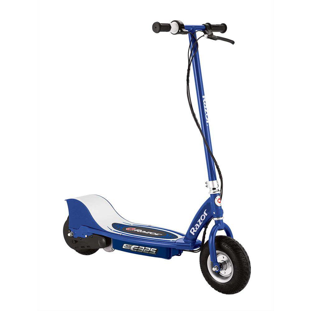Razor E325 Electric Battery 24 Volt 15 MPH Motorized Ride On Kids Scooter, White
