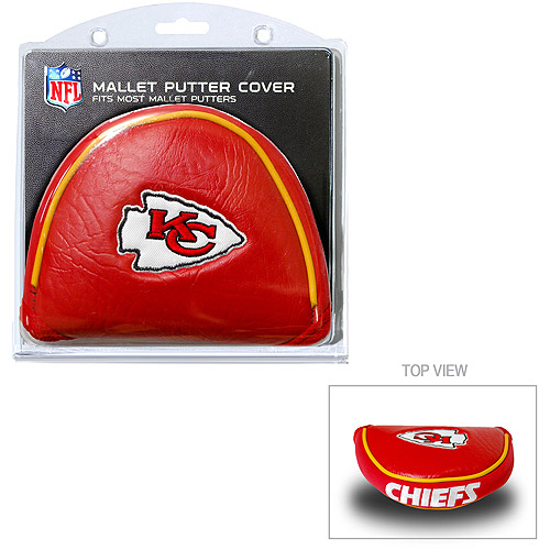 Team Golf NFL Kansas City Chiefs Golf Mallet Putter Cover