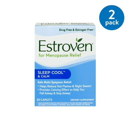 (2 Pack) ESTROVEN NIGHT CAP (Best Time Of Day To Take Estroven Weight Management)