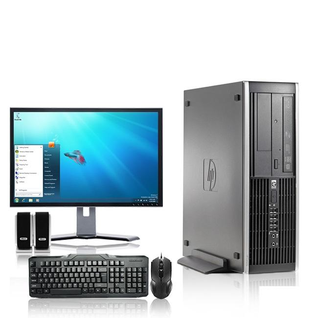HP DC Desktop Computer 2.3 GHz Core 2 Duo Tower PC, 6GB RAM, 500 GB HDD, Windows 7