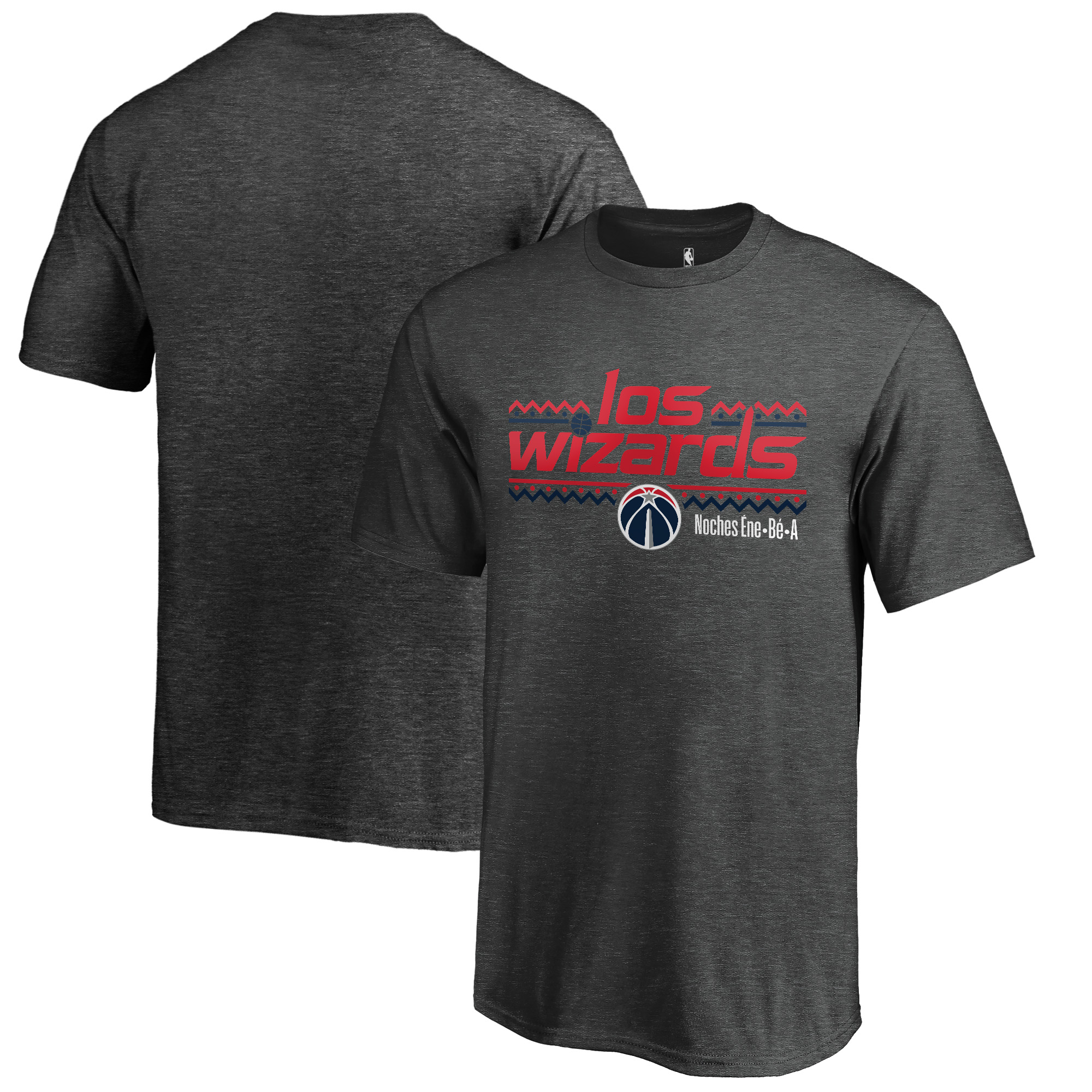 Washington Wizards Fanatics Branded Youth Noches Ene-Be-A T-Shirt - Heather Gray