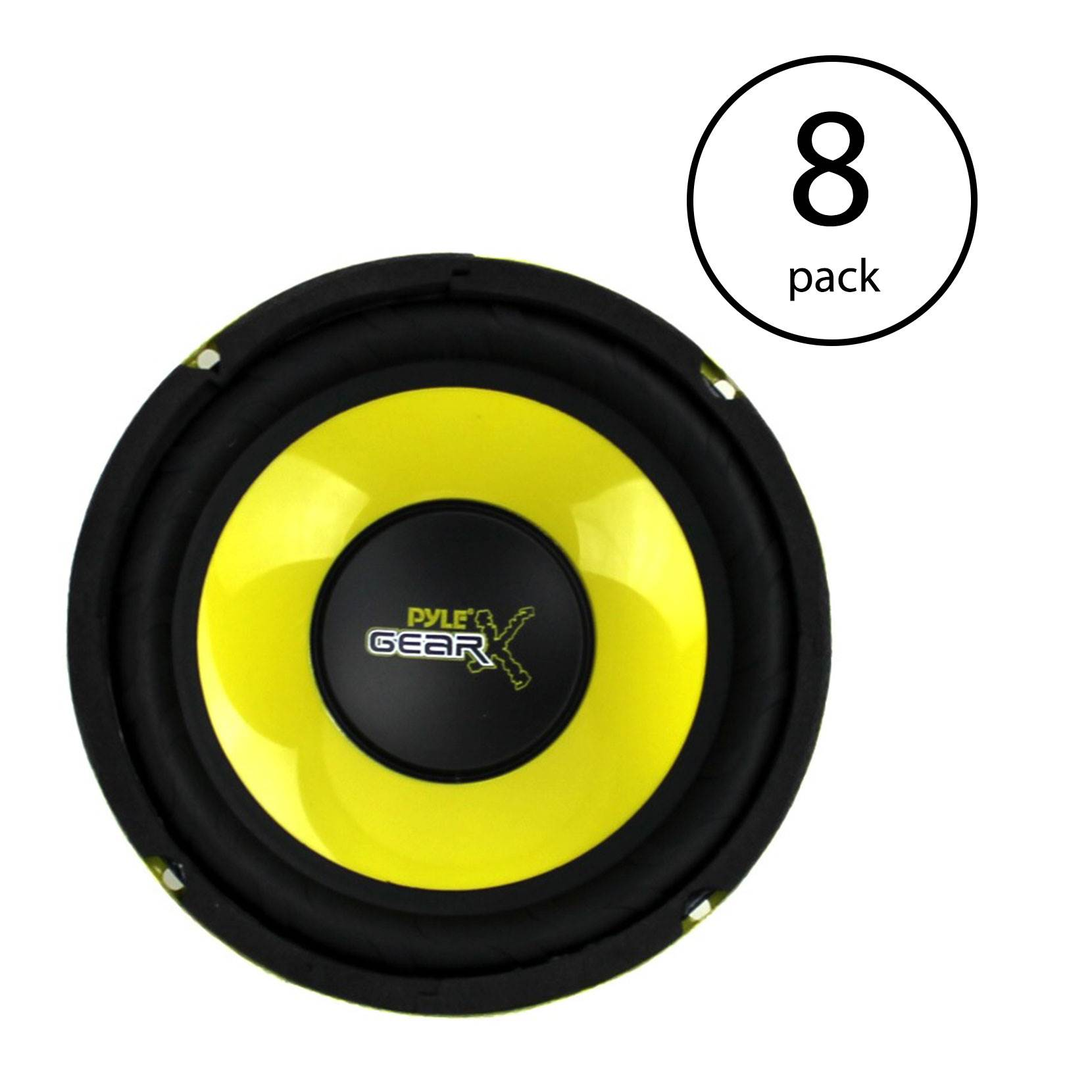 "Pyle PLG64 6.5/"" 300 Watt Lot of Mid Bass Woofers Car Audio System 8 4 Ohm"