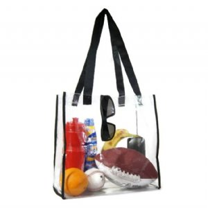 Large Clear Tote Bag Nfl Football Stadium Roved With Handles For Men And Women