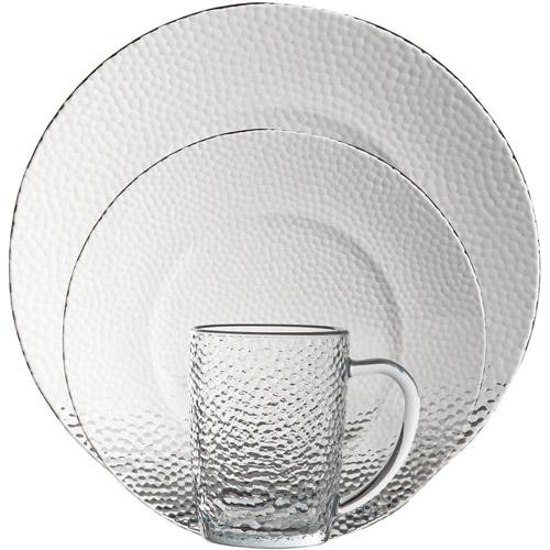 sc 1 st  Walmart & Gibson Home Riverina 16-Piece Glass Dinnerware Set - Walmart.com