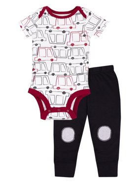 Little Star Organic Pure Organic Outfits, Gift Sets, 2 Piece (Baby Boys)