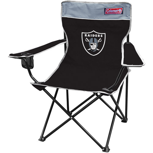 Coleman Quad Chair, Oakland Raiders
