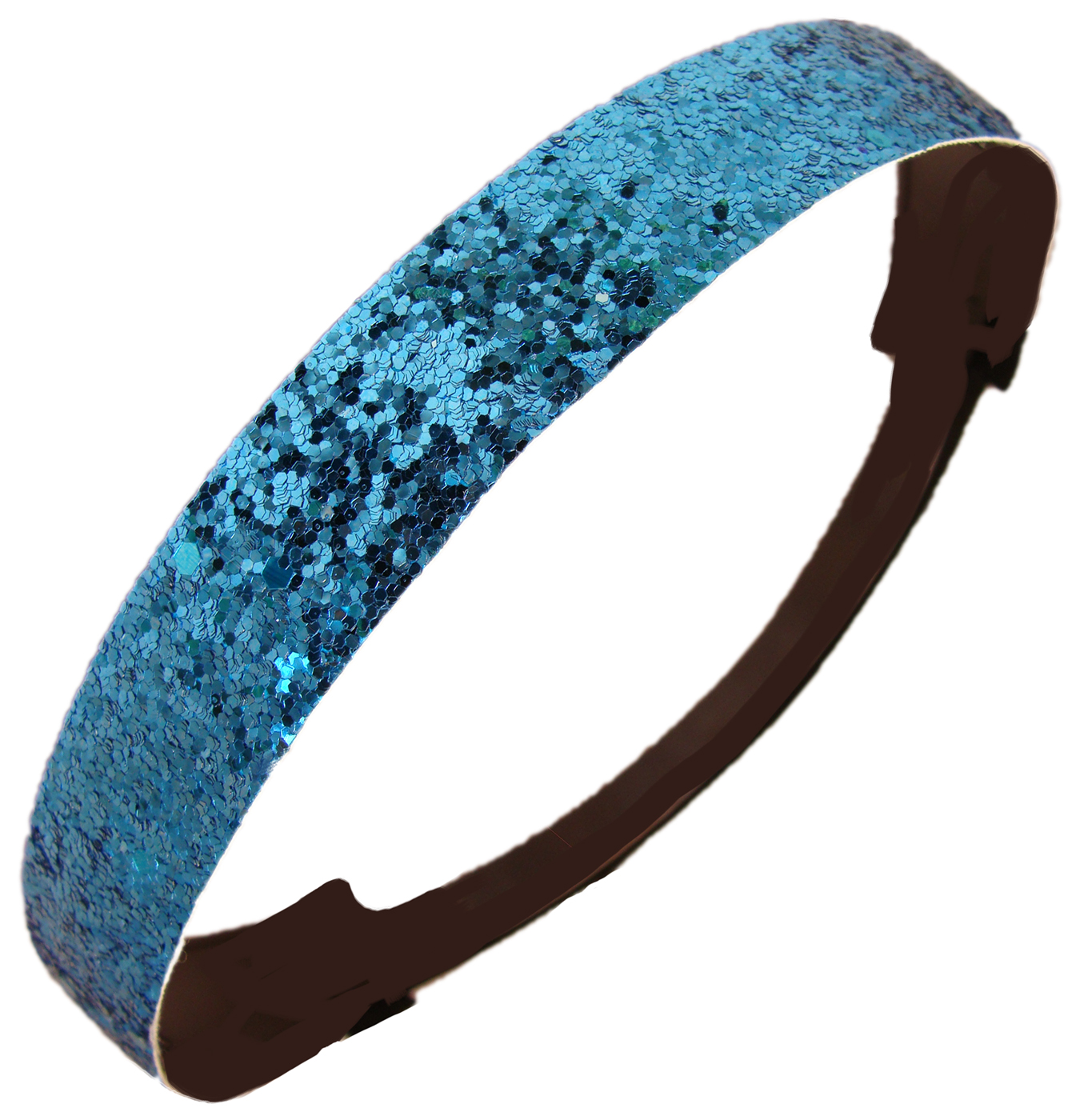 Kenz Laurenz Glitter Headband Girls Headband Sparkly Hair Head Band Teal