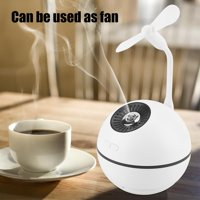 Ejoyous 300ml USB Rechargeable Multifunctional Humidifier Fan Power Bank Night Light, 300ml Humidifier,Humidifier