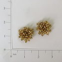 Expo Int'l Mini Beaded Flower Applique Pack of 2