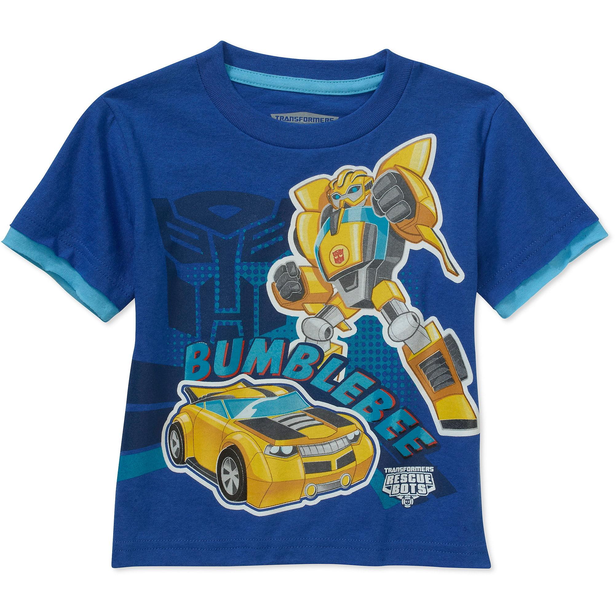 Transformers Toddler Boy Short Sleeve Tee