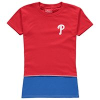 Philadelphia Phillies Refried Apparel Girls Preschool T-Shirt Dress - Red