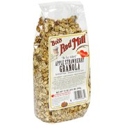 *****DISCONTINUED****Bob's Red Mill All Natural Apple Strawberry Granola, 12 oz (Pack of 4)