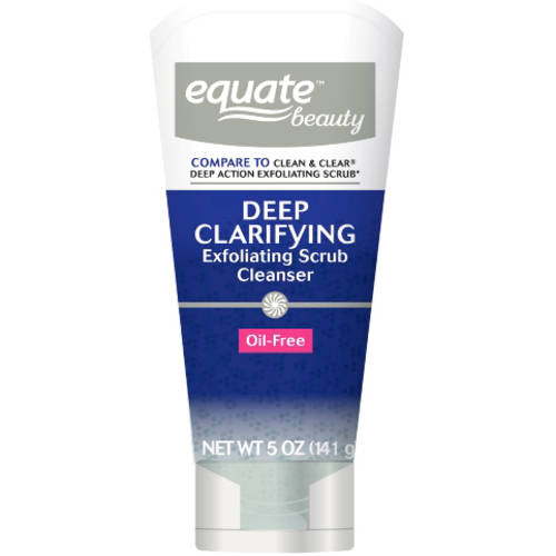 Equate Beauty Deep Clarifying Exfoliating Scrub Cleanser, 5 oz